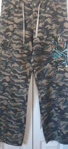 Boston Proper army green/camo pants size 12